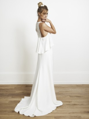 Rime Arodaky - Gaia - Collection 2014 - Robe de mariee sur mesure Paris - La mariee aux pieds nus  - Credit photos Jonas Bresnan