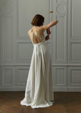 Céline de Monicault - Robes de mariée - Collection 2018 - Blog mariage : La mariée aux pieds nus