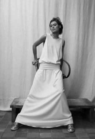 Rhum Raisin by Victoire Vermeulen - Robes de mariee  - Paris - La mariee aux pieds nus - 1