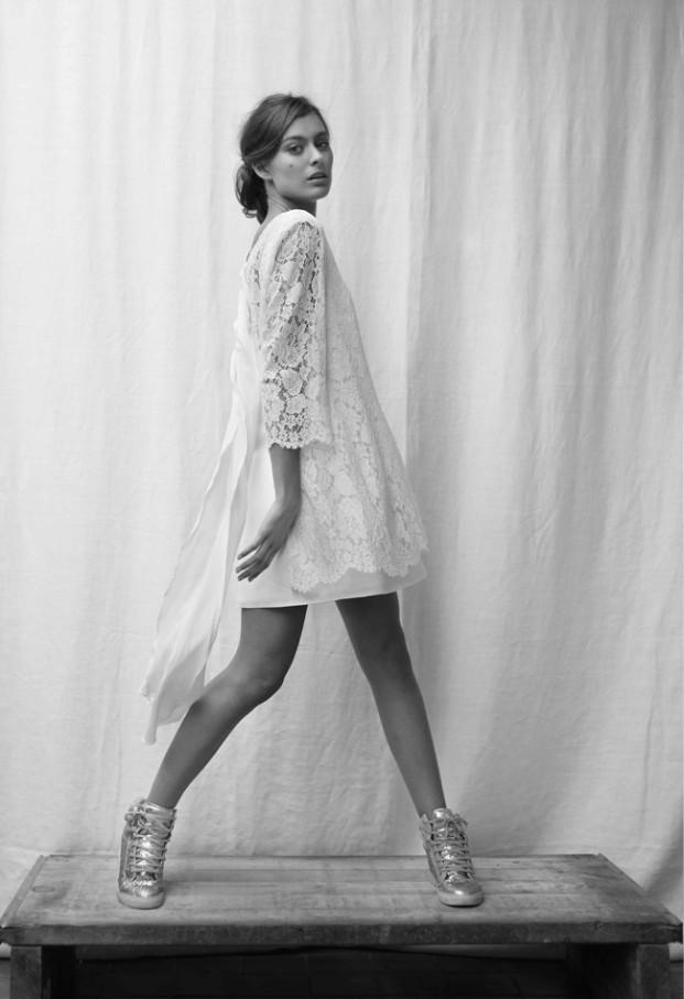 Rhum Raisin by Victoire Vermeulen - Robes de mariee  - Paris - La mariee aux pieds nus - 3