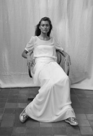 Rhum Raisin by Victoire Vermeulen - Robes de mariee  - Paris - La mariee aux pieds nus - 5