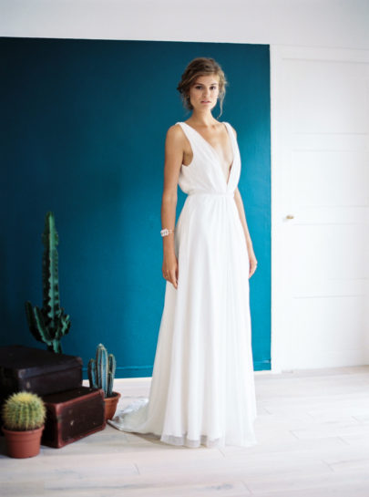 Carnets de mariage - Collection capsule 2016 - Robes de mariées - sur La mariée aux pieds nus - Photos : Yann Audic