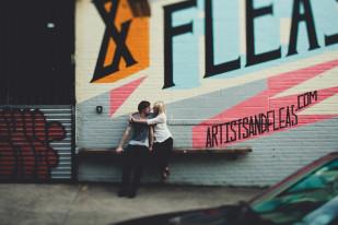 ©Andria Lindquist - Une seance photo en amoureux a new york - La mariee aux pieds nus