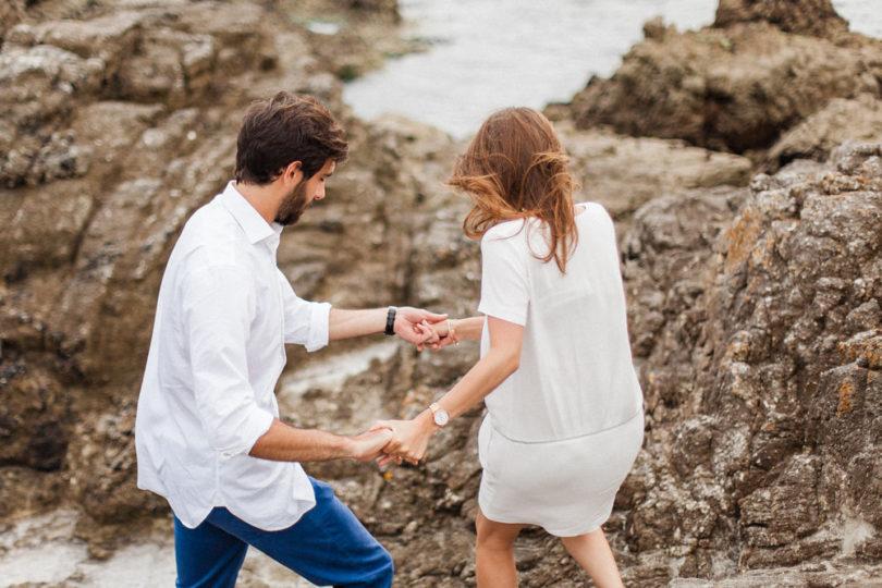 Une séance engagement à La Baule - Sébastien Hubner - La mariée aux pieds nus