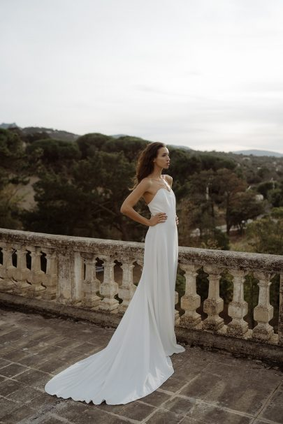 Cécile Casabianca - Robes de mariée - Collection 2020 - Photos : Aurélien Bretonnière - Blog mariage : La mariée aux pieds nus