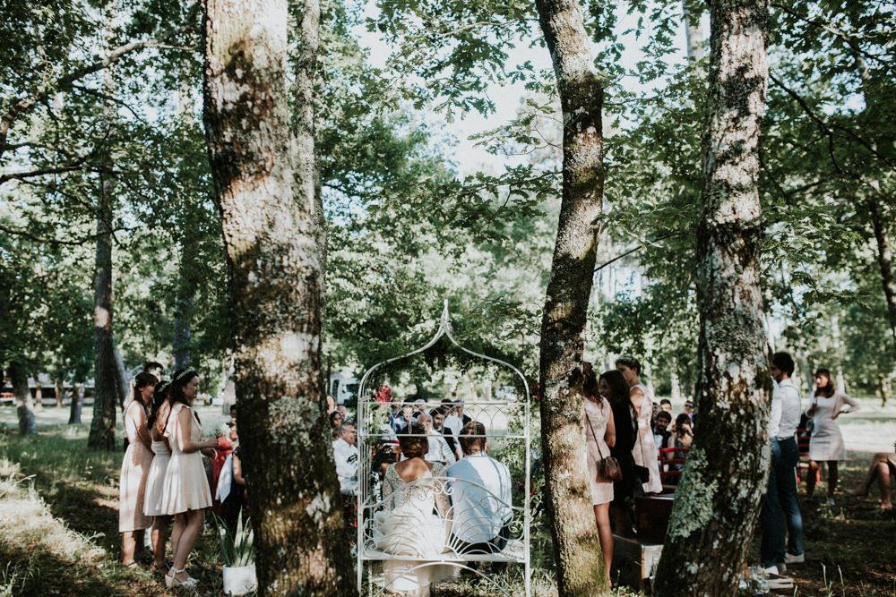 un mariage rustique et champtre dans une fort des landes a dcouvrir sur le blog photographe yoris photographe - Photographe Mariage Landes
