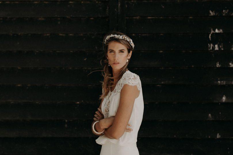 Lizeron - Accessoires de mariée - Collection 2020 - Photos : Baptiste Hauville - Blog mariage : La mariée aux pieds nus