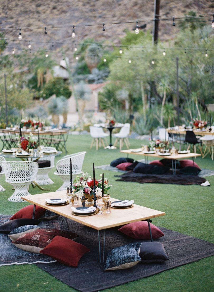 Des alternatives à un diner de mariage assis - La mariée aux pieds nus
