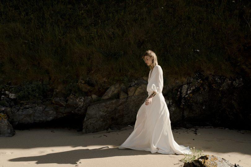 Amarildine - Robes de mariée - Collection 2020 - Photos : Solveig & Ronan -Blog mariage : La mariée aux pieds nus
