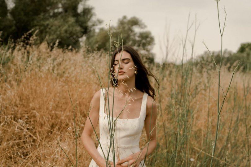 Amarildine - Robes de mariée - Collection 2022 - Photos : Solveig & Ronan - Blog mariage : La mariée aux pieds nus