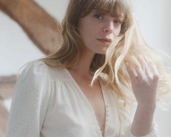 Anne de Lafforest x Botzaris - Robes de mariée - Collection mariage civil 2021 - Blog mariage : La mariée aux pieds nus