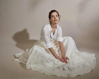 Anne de Lafforest - Robes de mariée - Collection 2020 - Blog mariage : La mariée aux pieds nus