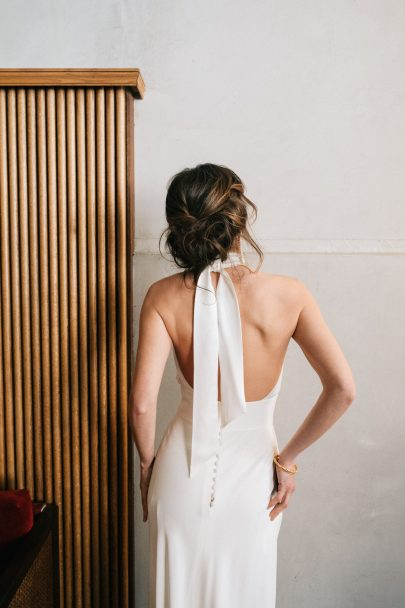 Anne de Lafforest - Robes de mariée - Collection 2022 - Photos : Aude Lemaitre - Blog mariage : La mariée aux pieds nus