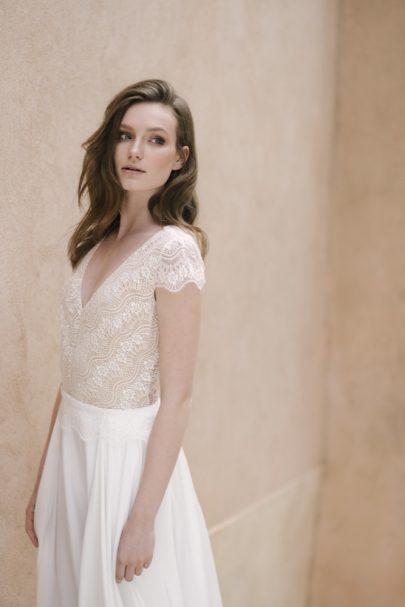 Atelier Anonyme - Robes de mariée - Collection 2018 - Blog mariage : La mariée aux pieds nus