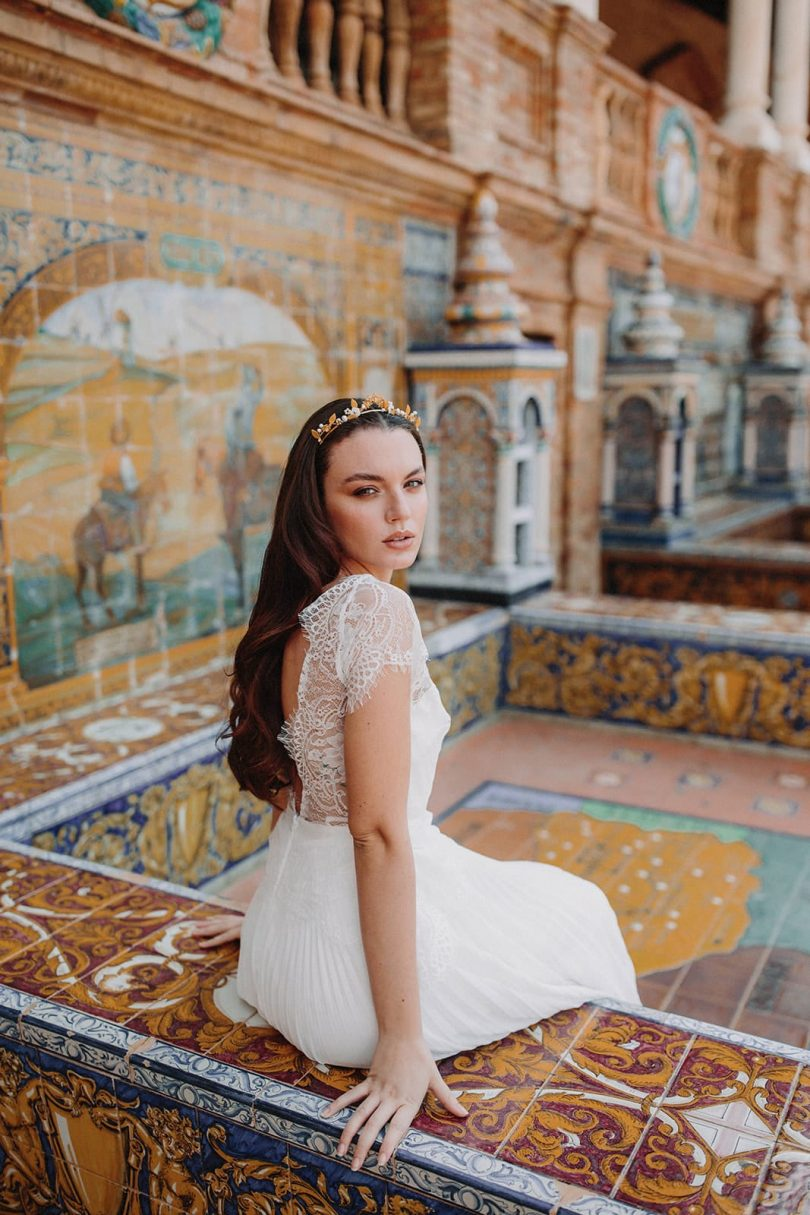 Atelier Lilac - Accessoires de mariée - Photos : Ernesto Villalba - Blog mariage : La mariée aux pieds nus
