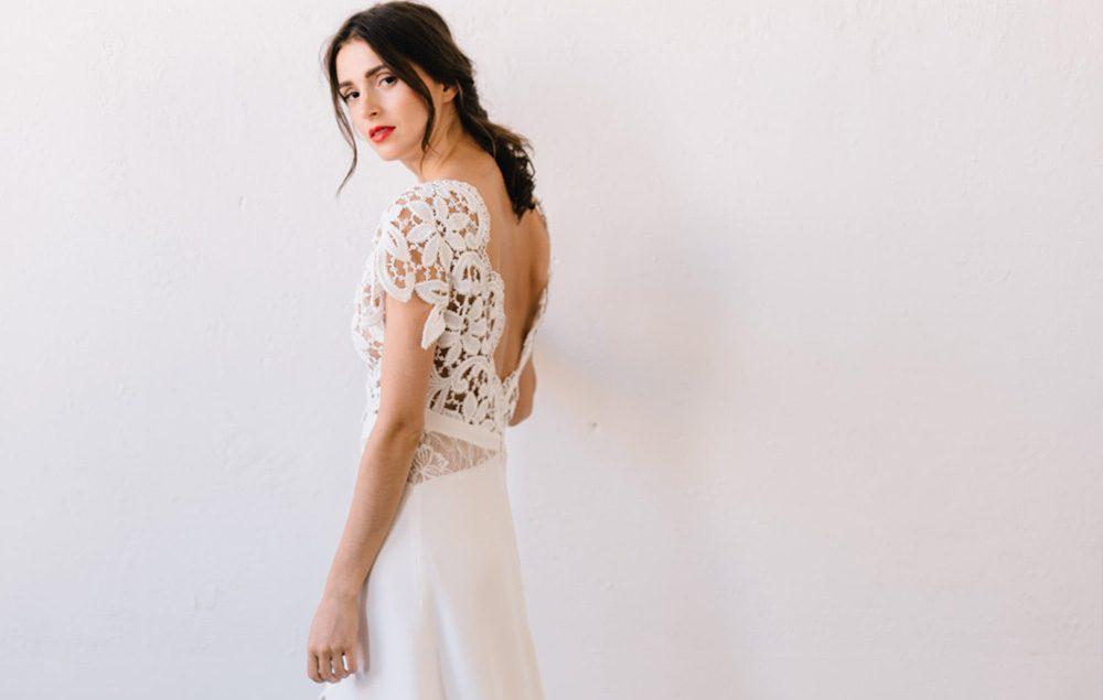 Aurélia Hoang - robes de mariée - Collection 2018 - Blog mariage : La mariée aux pieds nus