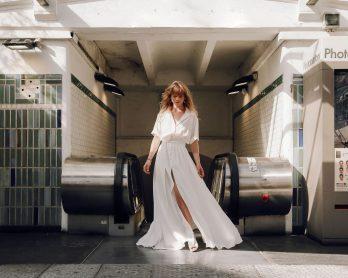Azeline - Robes de mariée - Collection 2021 - Photos : Solenne Jakovsky - Blog mariage : La mariée aux pieds nus