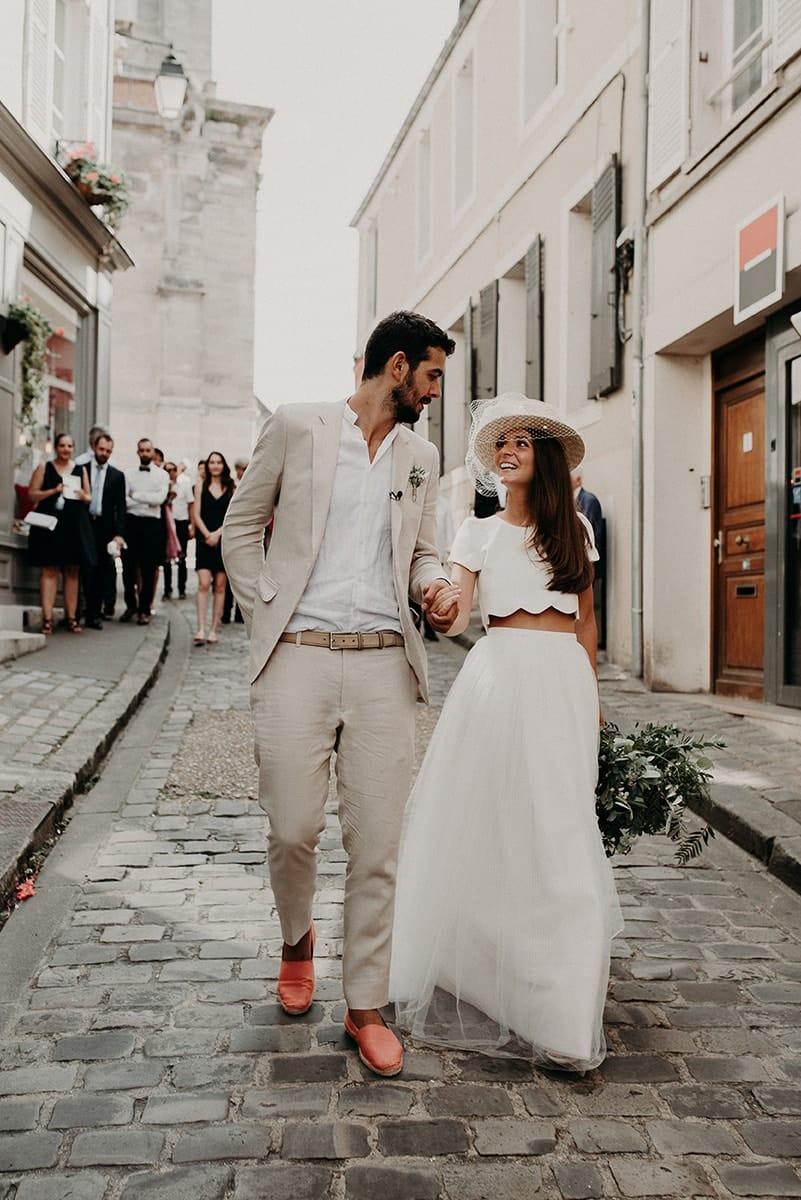 MC2 Mon Amour - XWedding planner - Mariage - La mariée aux pieds nus