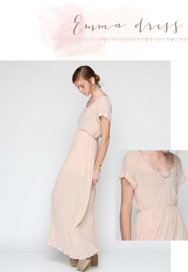 Robe de mariee beige rose