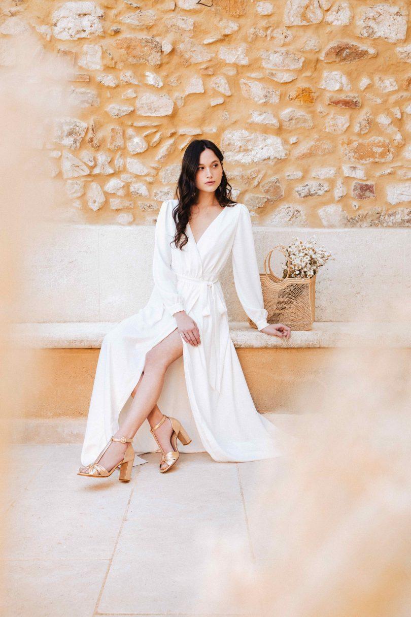 Bobbies X Lorafolk : collection capsule 2020 - Blog mariage : La mariée aux pieds nus.