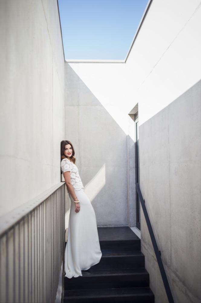 Olympe - Mariage - Photos : Rue Valfère - La mariée aux pieds nus