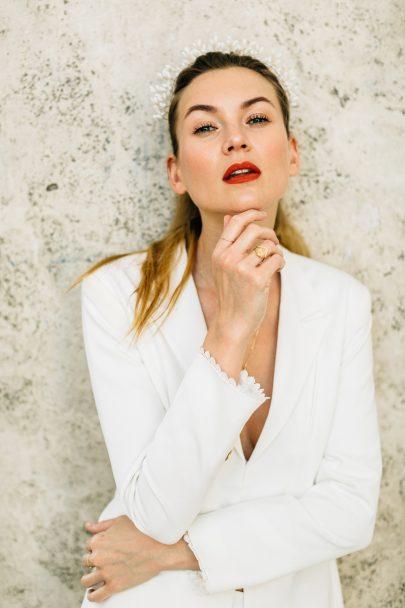 Camille Marguet X Admise - Le tailleur de la mariée - La mariée aux pieds nus