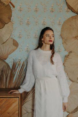 Camille Marguet - Robes de mariée - Mariage civil - Collection 2021 - Photos : Baptiste Hauville - Blog mariage : La mariée aux pieds nus