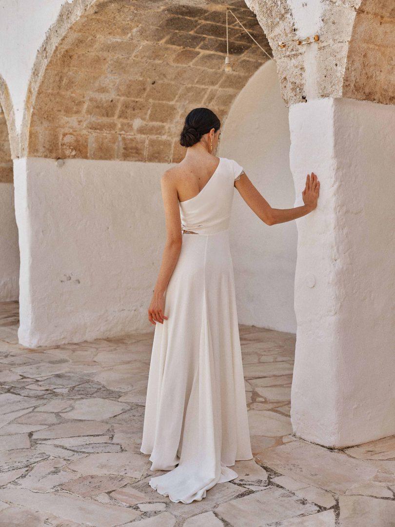Camille Marguet - Robes de mariée - Collection 2022 - Photos : Fabien Courmont - Blog mariage : La mariée aux pieds nus