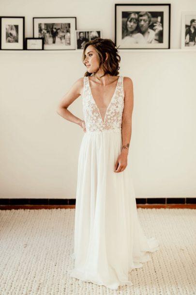 Camille Recollin - Robes de mariée Collection mariage civil 2019 - Blog mariage : La mariée aux pieds nus