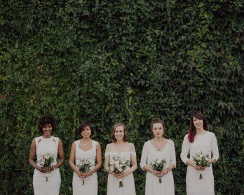 Des robes blanches pour vos demoiselles d'honneur - Blog mariage : La mariée aux pieds nus