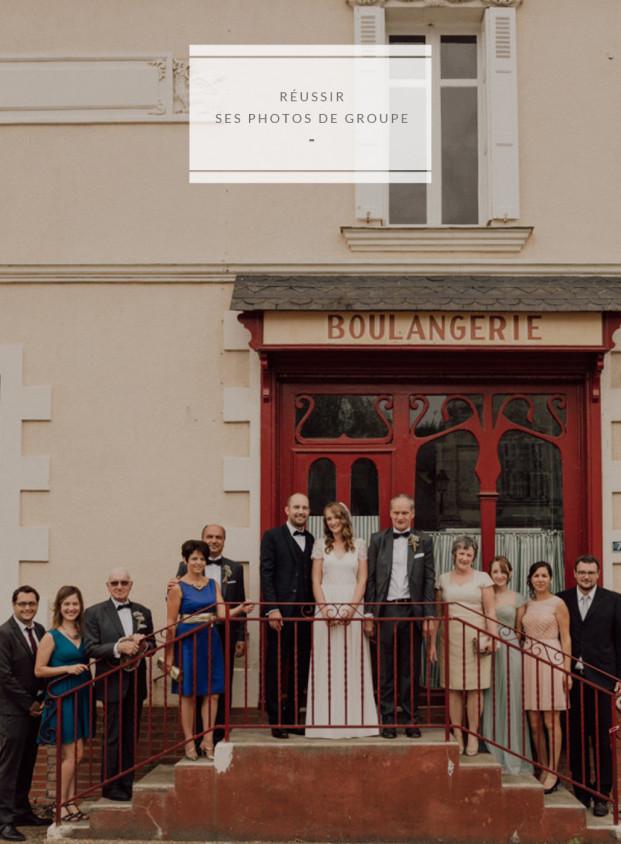 Découvrez les conseils pour réussir ses photos de groupe de mariage sur le blog www.lamarieeaxupiedsnus.com - Photo : Capyture