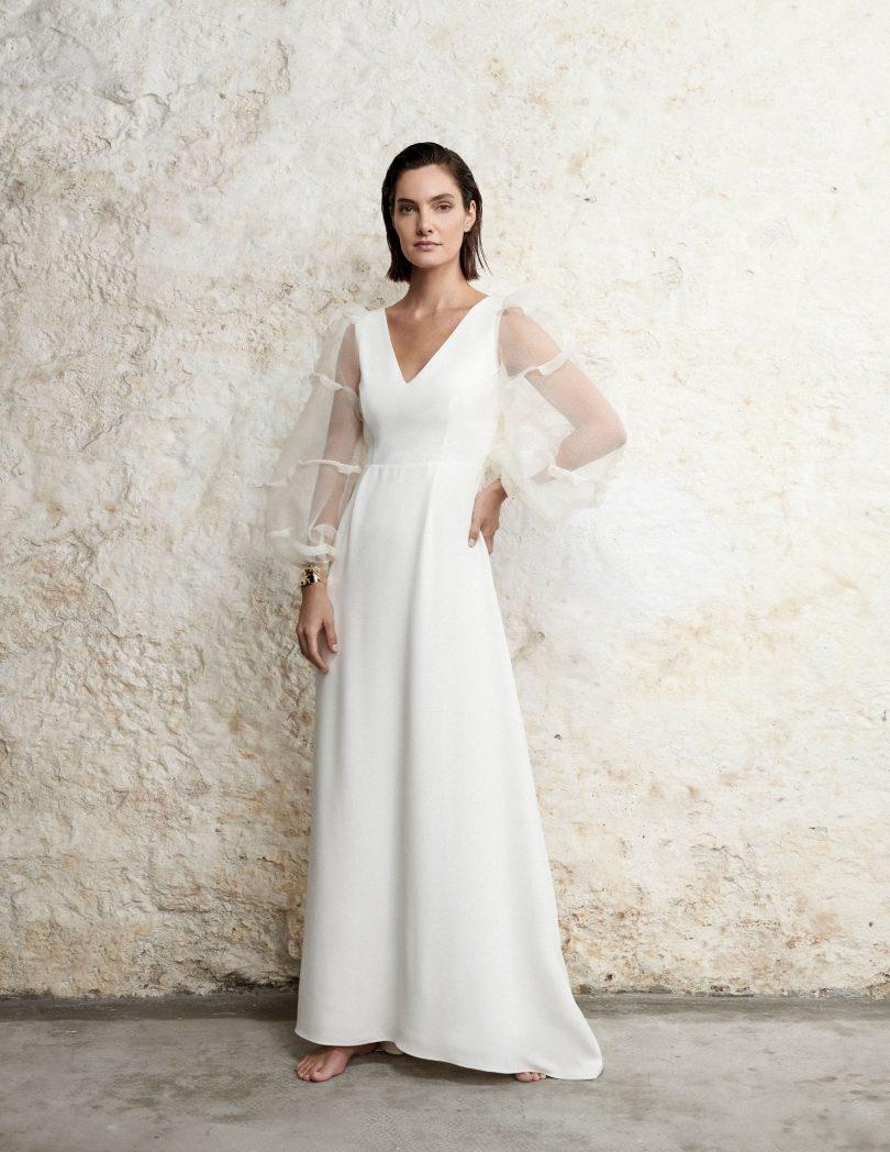 Carta Branca - Robes de mariée - Collection 2021 - Blog mariage : La mariée aux pieds nus