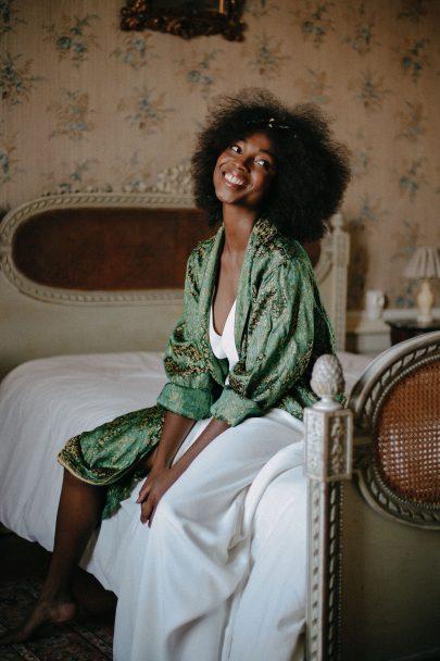 Céline de Monicault - Robes de mariée - Photos : Maïwenn Nicolas - Blog mariage : La mariée aux pieds nus