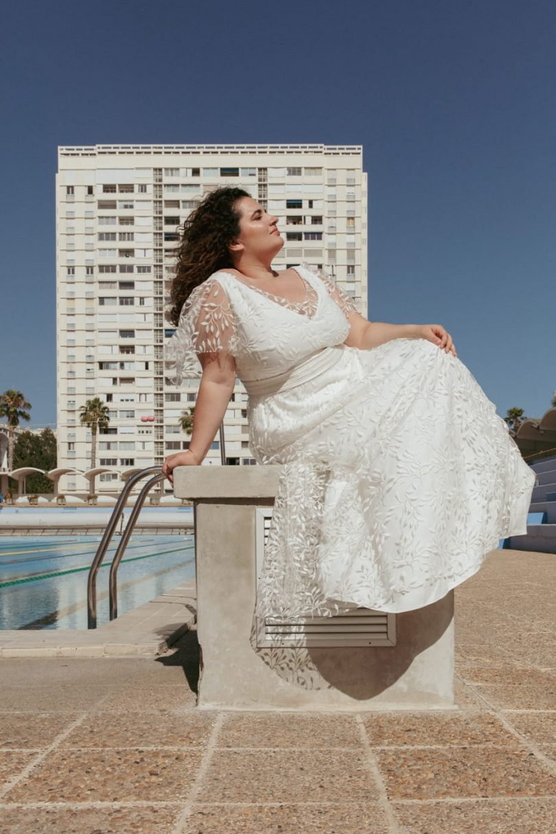 Céline de Monicault - Robes de mariée - Collection 2022 - Photos : Faustine Martin - Blog mariage : La mariée aux pieds nus