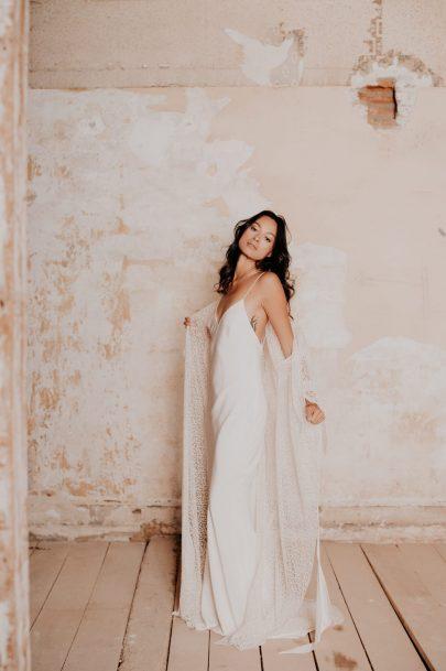 Céline Ménard - Robes de mariée - Collection 2021 - Photos : Céline Deligey - Blog mariage : La mariée aux pieds nus