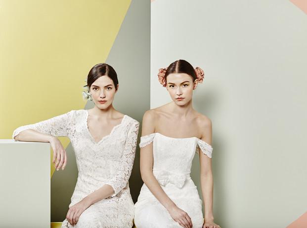 Charlie Brear - Robes de mariée - Collection 2017 - A découvrir sur le blog mariage www.lamarieeauxpiedsnus.com