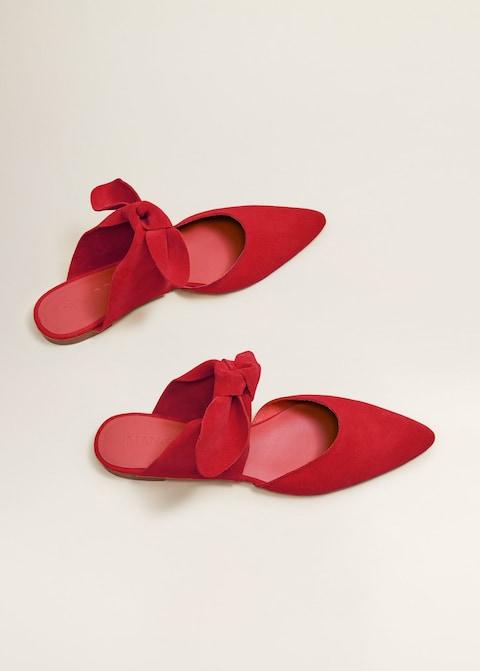 La Nus Mariee Rouges Aux Pieds Chaussures Mules CdBoex