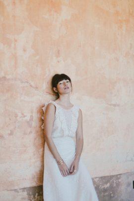 Christina Sfez - Robes de mariée - Collection 2018 - Blog mariage : La mariée aux pieds nus