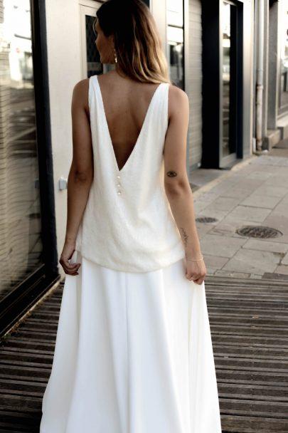 Claudine - Robes de mariée - Collection 2020 - Blog mariage : La mariée aux pieds nus
