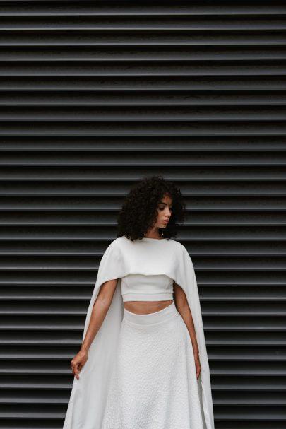 Clémentine Iacono - Robes de mariée - Collection 2021 - Photos : Chloé Lapeyssonnie - Blog mariage : La mariée aux pieds nus