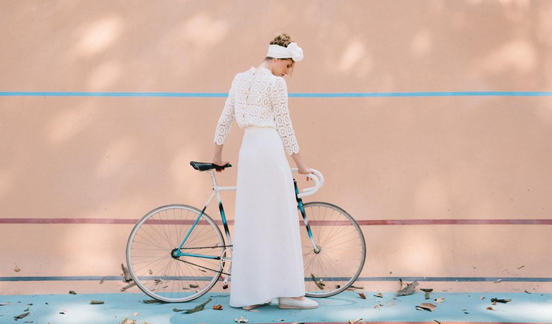 Clementine Iacono - Robe de mariée - Photos : Chloé Lapeyssonnie - Blog mariage- La mariée aux pieds nus