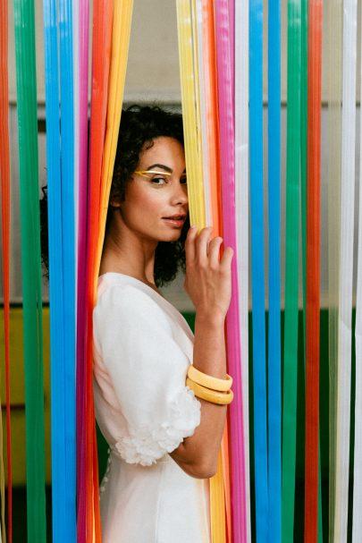 Clémentine Iacono - Robes de mariée - Collection 2022 - Photos : Chloé Lapeyssonnie - Blog mariage : La mariée aux pieds nus