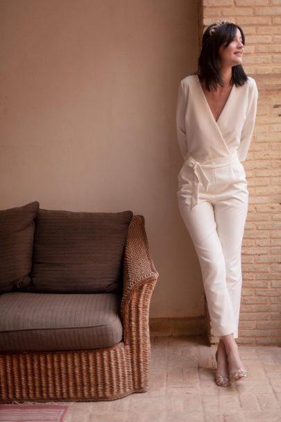 Maison Lemoine - Robes de mariée - Collection Amour Nomade - Photos : Marion Colombani - Blog mariage : La mariée aux pieds nus
