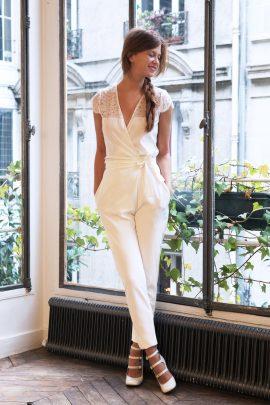 Une sélection pour se marier en pantalon - La mariée aux pieds nus