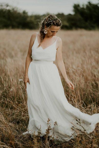 Comment organiser un mariage champêtre ? - Photos : Les Histoires d'A - Blog mariage : La mariée aux pieds nus