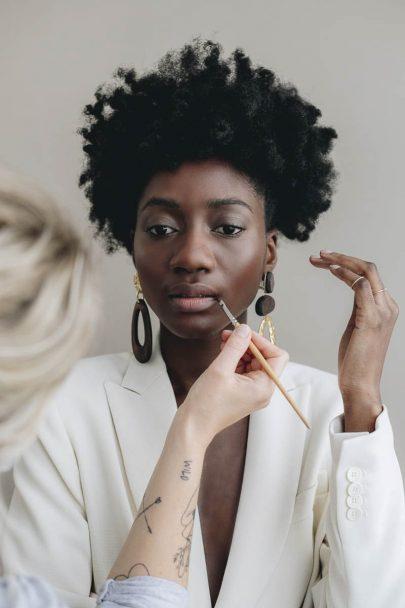 Beauté : Conseils beauté pour les mariées aux peaux foncées et métissées - Photos : Aude Lemaitre - Blog mariée : La mariée aux pieds nus