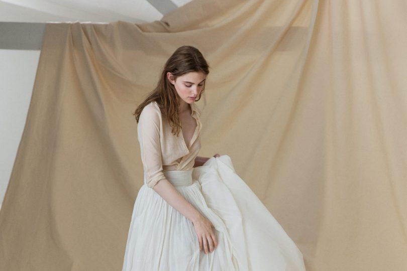 Asia par Cortana - Nos 10 robes de mariée à manches préférées - Blog mariage La mariée aux pieds nus
