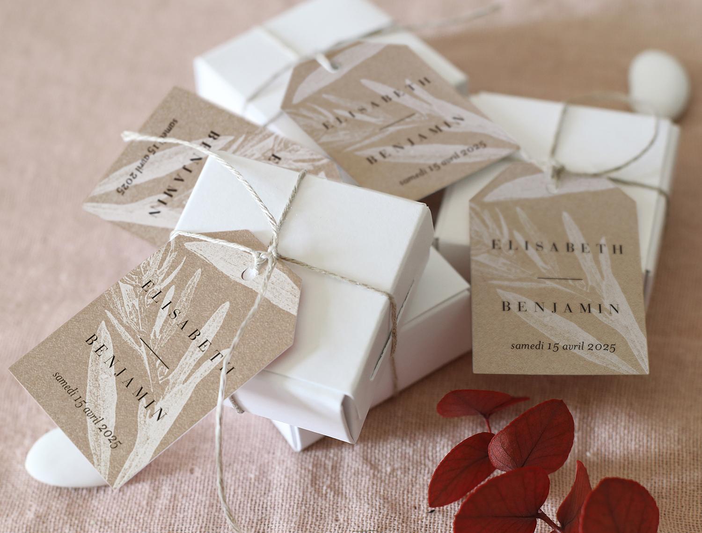 Cotton bird - Créatrice de faire-part - La mariée aux pieds nus