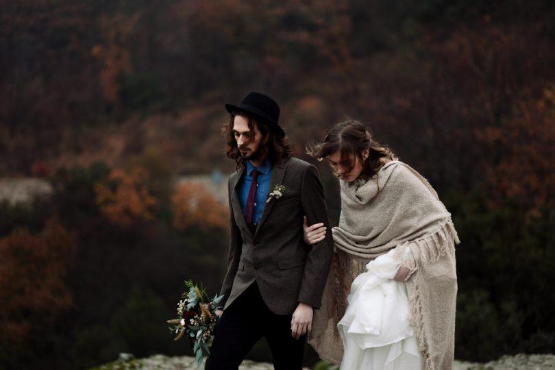 Un elopement boho dans les montagnes - Photos : Days Made of Love - A découvrir sur le blog mariage La mariée aux pieds nus