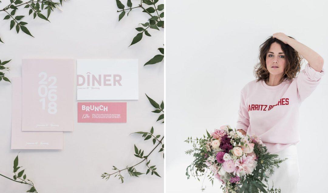 Delicate woman - Un mariage en rose et blanc - Photos : Chloé Fayollas - Blog mariage : La mariée aux pieds nus